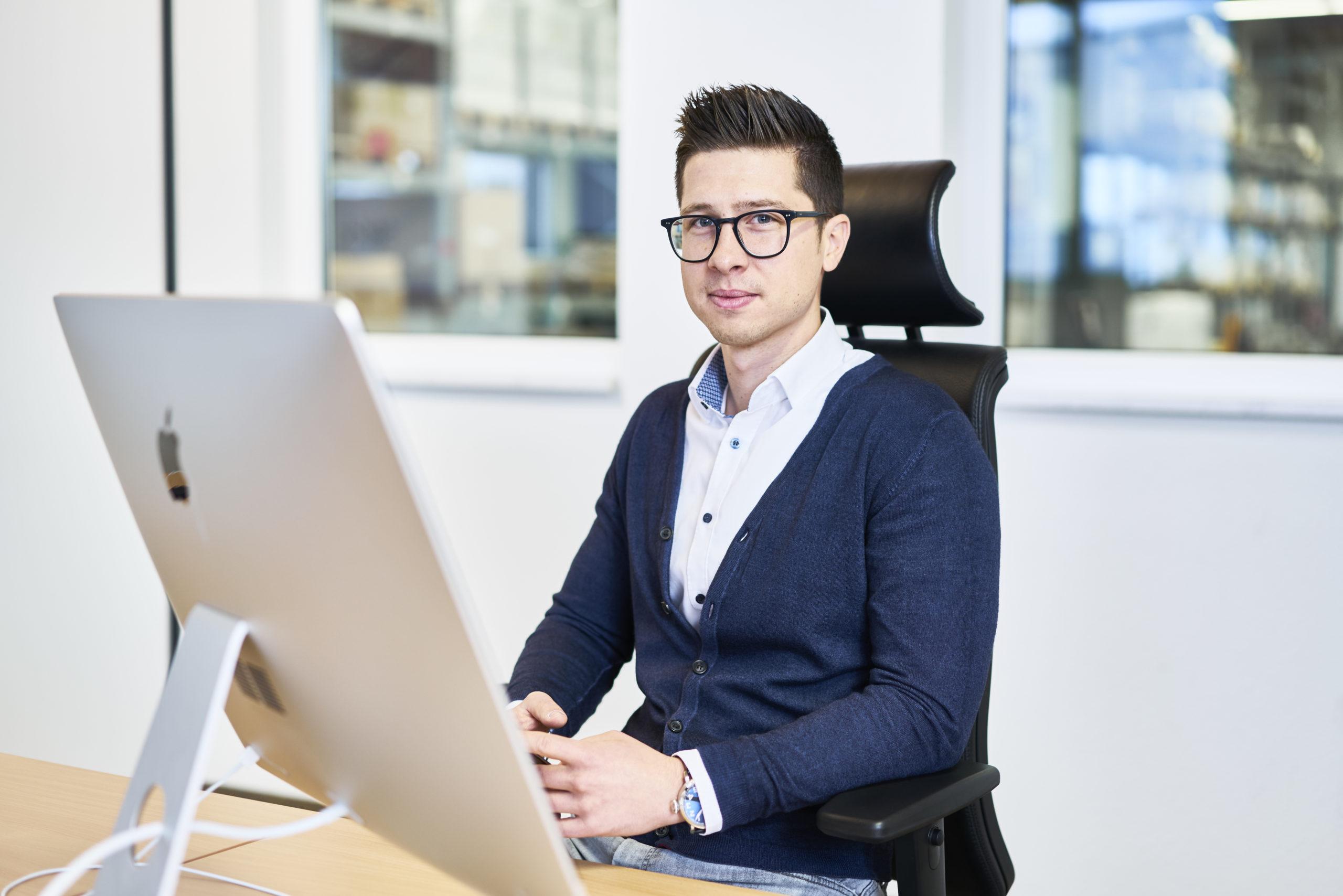 Thorsten Kindler-Geschäftsführender Gesellschafter-Kinderl Etiketten-Endingen am Kaiserstuhl